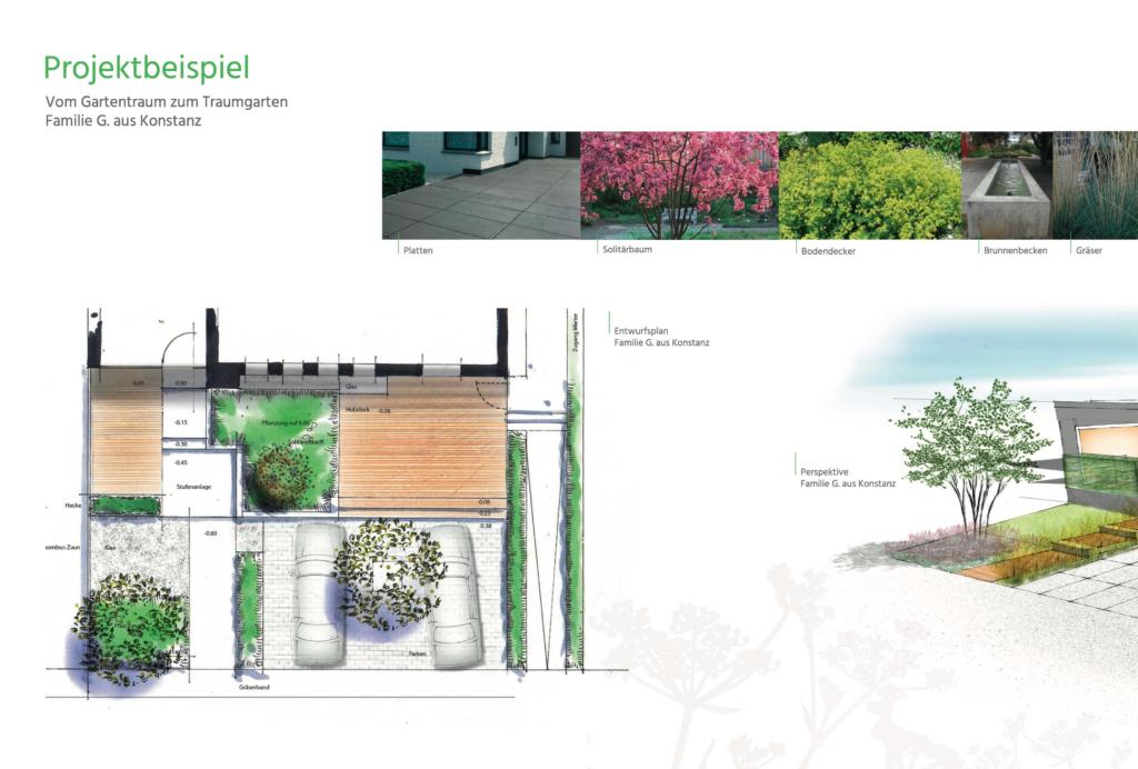 Projektbeispiel moderne Gartenplanung Hainmüller